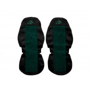 Seat covers for VOLVO FH FM FL prod. 2002-10 (2 seat belts)