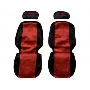 Seat covers for VOLVO FH FM FL prod. 2002-10 (regulating headrests )