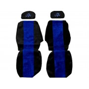 Seat covers for MAN F 2000 L 2000 (2 seat belts)