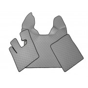 Floor mats DAF XF 105 (prod. 2007-2012) - AUTOMAT