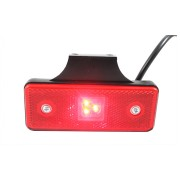 LED marker light with reflective divice red rear lights