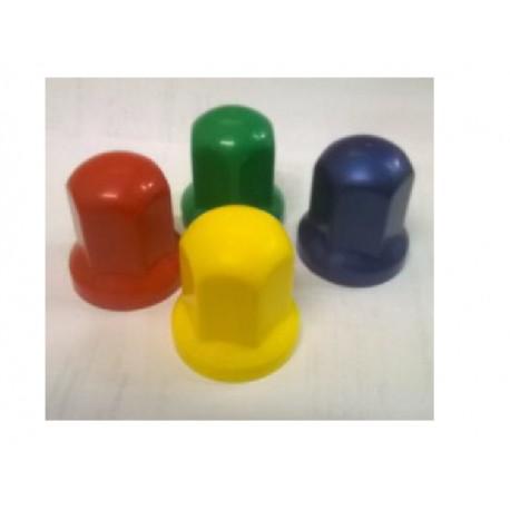 33mm Radmutterkappen Kunststoff Farbig